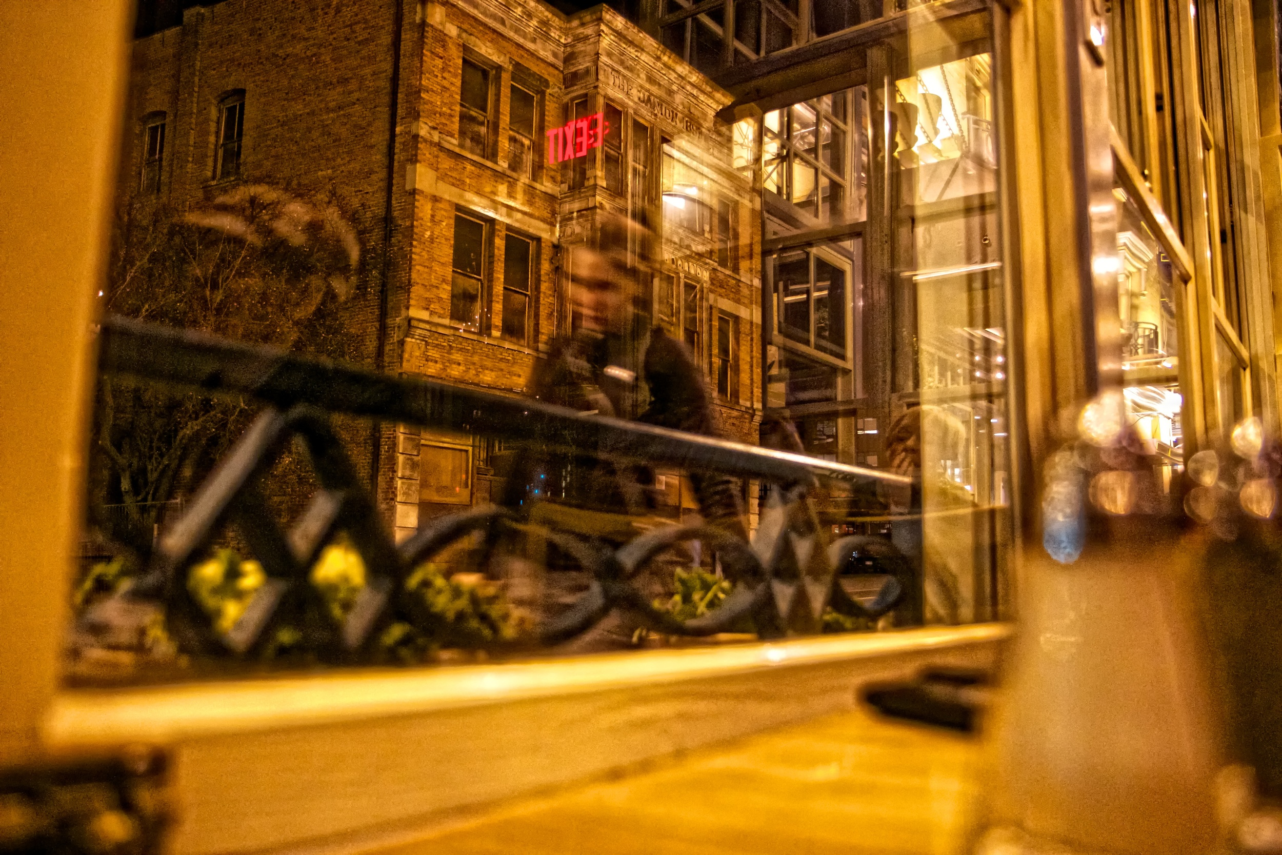 2013-02-23 at 20-42-16 Brick, City, NIght, Old Buildingff, Pedestrian, Reflection, Restaurant, Urban, Window.jpg