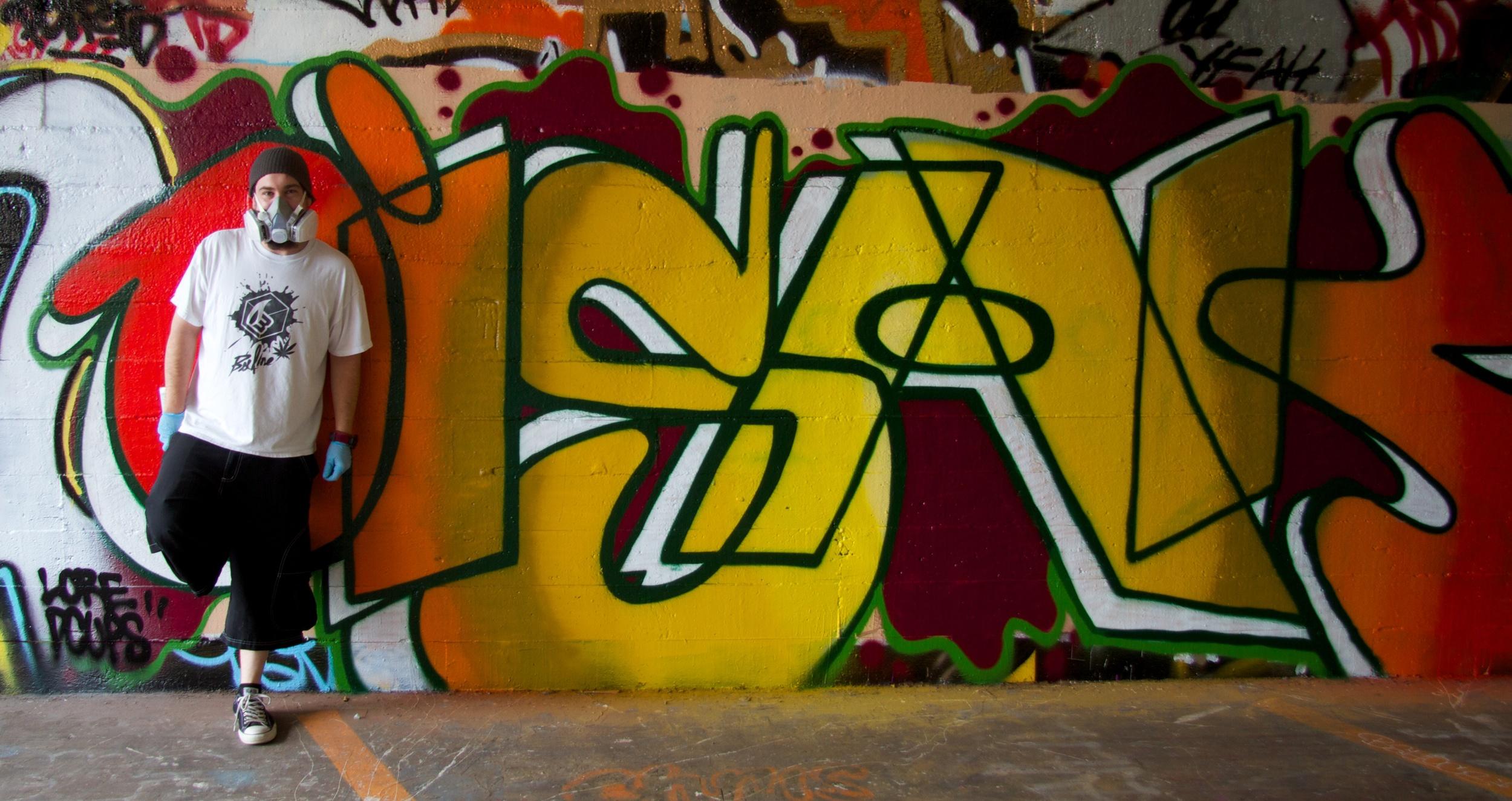 2011-08-14 at 12-05-06 Graffiti, Portrait, Artist, Mask, Vandal, Urban, Street Life, Yellow, Orange.jpg
