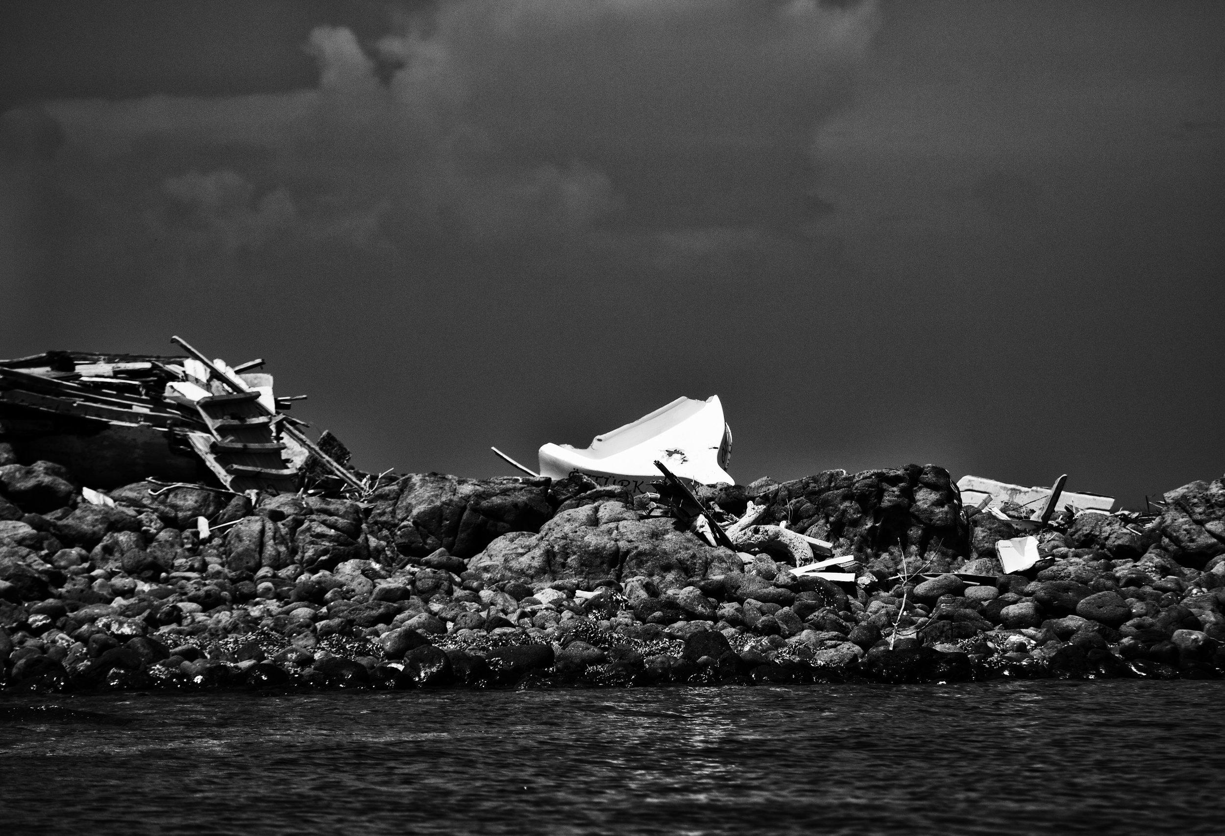 Berg-26-Jul-2018-01-08-16-1X7A7522-Karakos, Greece, Refugee, Boats, Wreck, Rocks, Danger, Migration.jpg