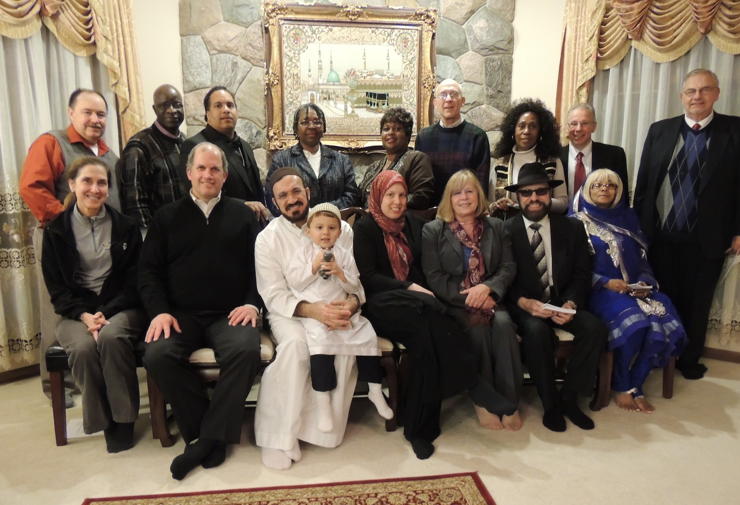 01/15/14: Interfaith Members Met with Imam Elahi to discuss