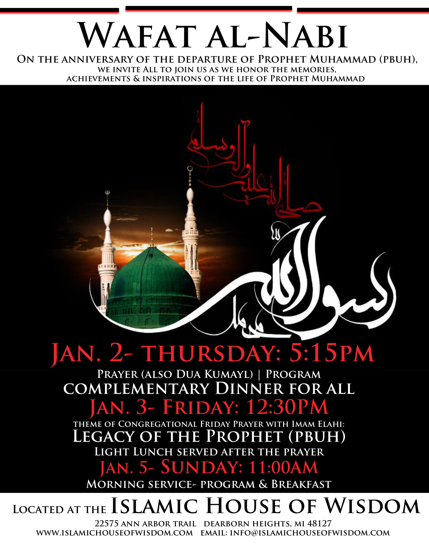 01/01/14: Prophet Muhammad- Moral Compass for 2014! Program