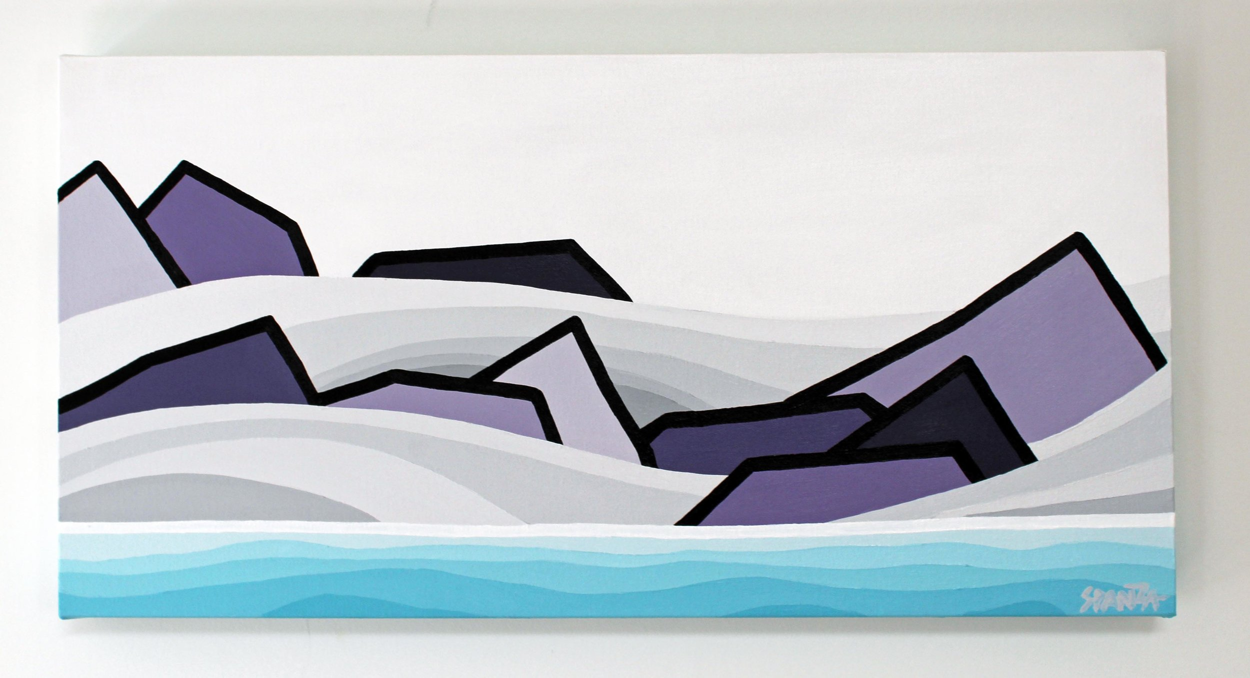 Smoke on the Water - Size: 12