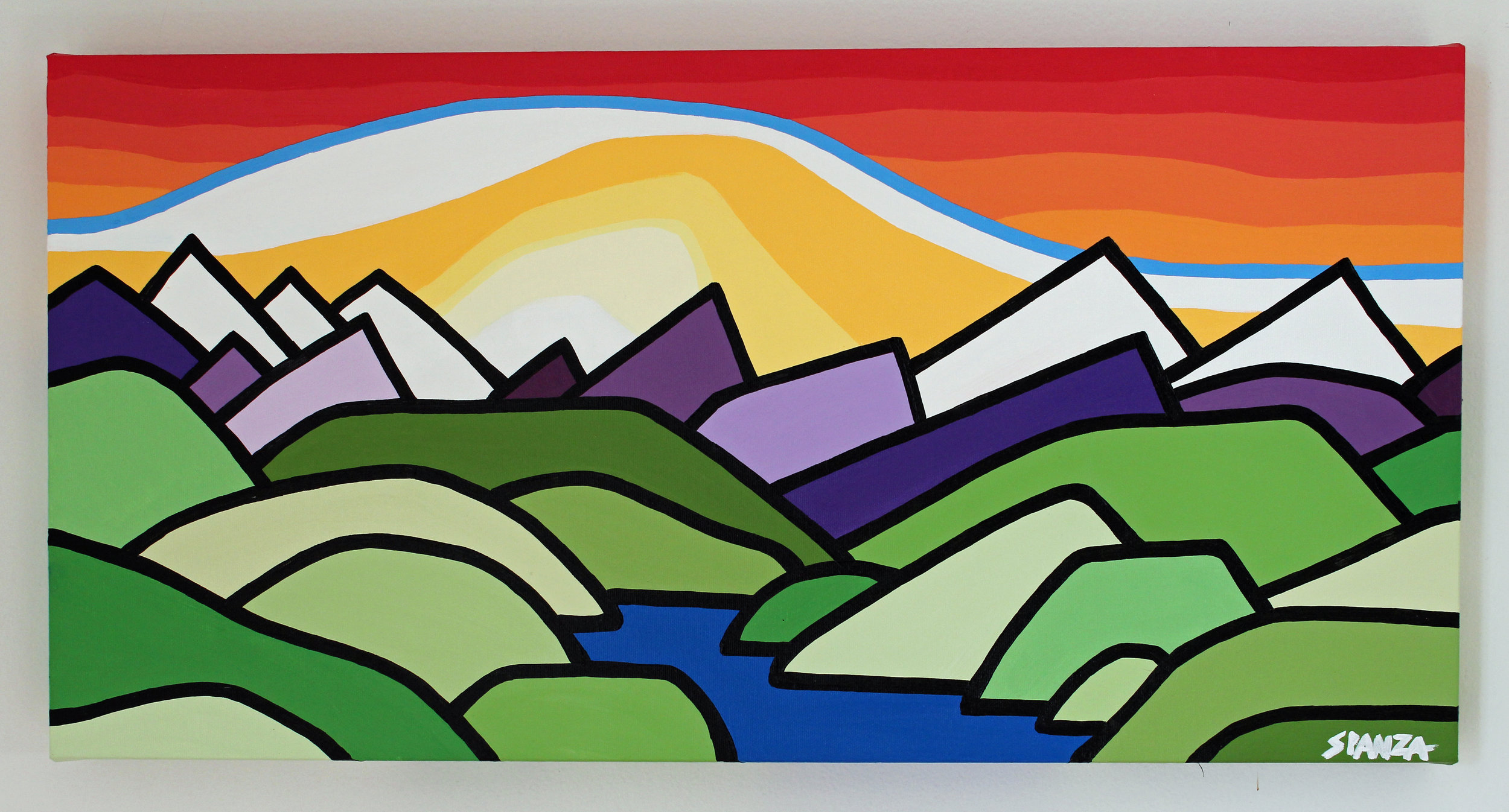 "The Foothills 12"" x 24"""
