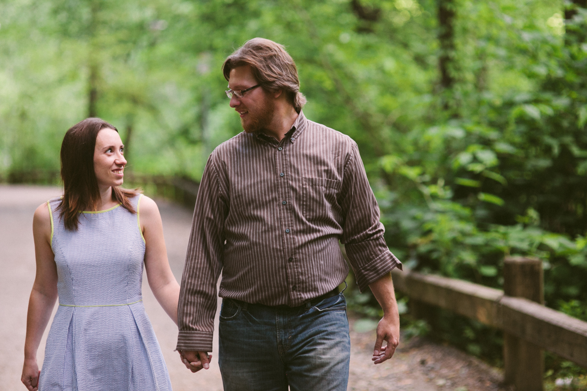 wissahickon valley green engagement