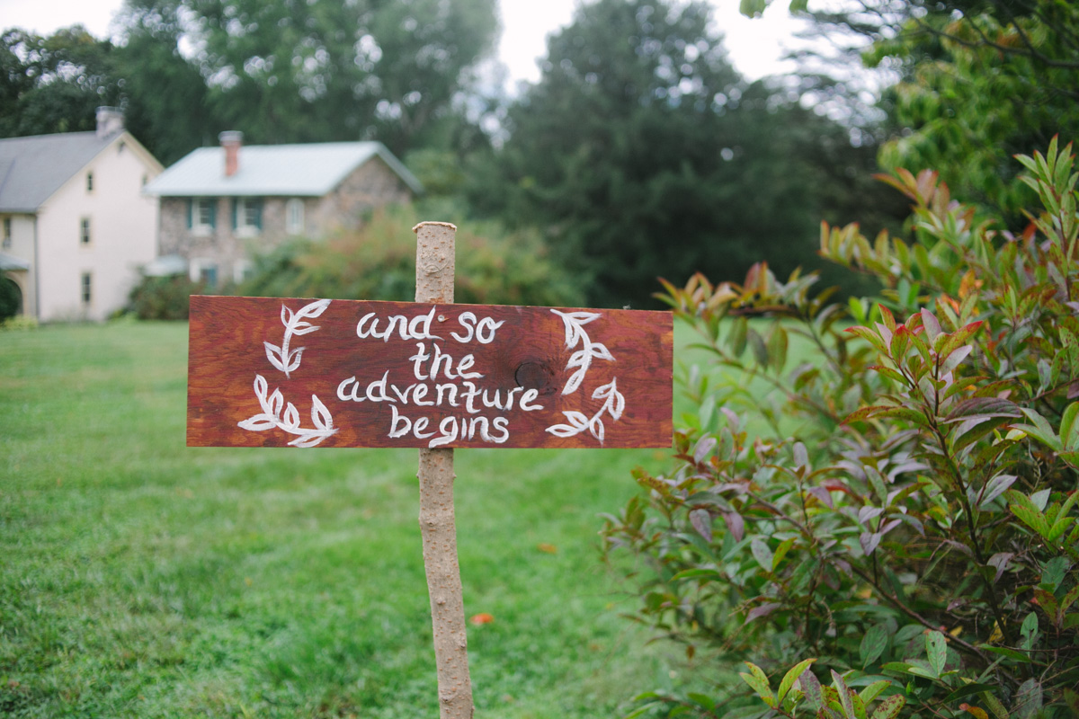 diy wedding sign ideas