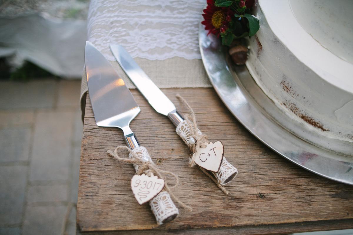 cake fork knife etsy