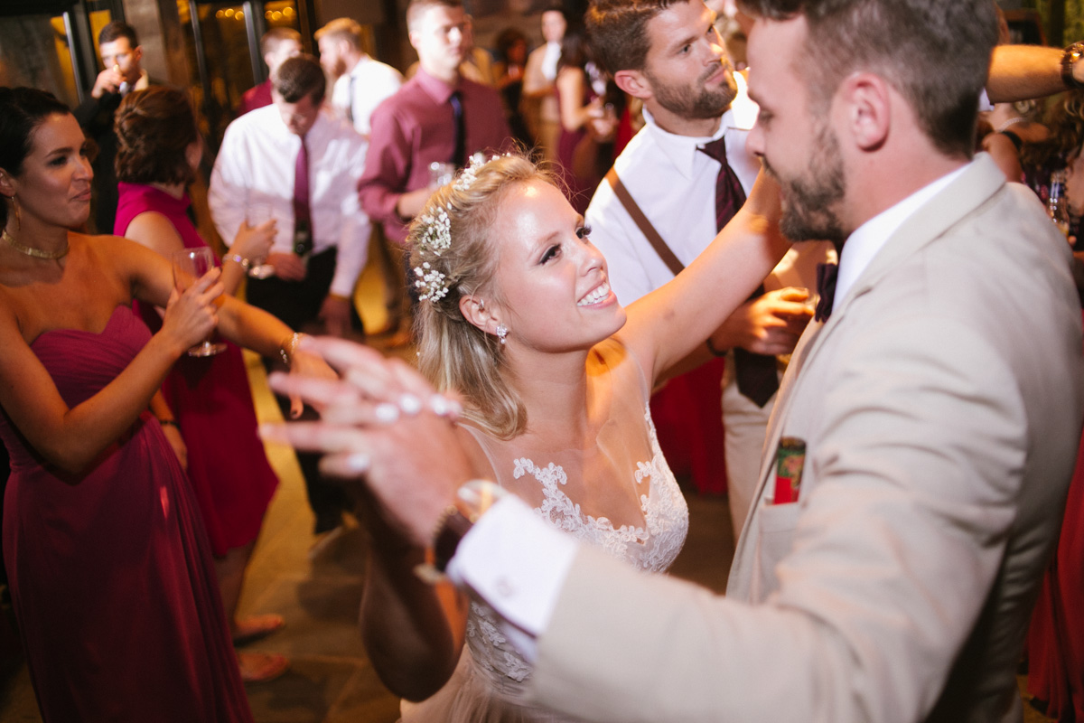 bride groom dancing photo