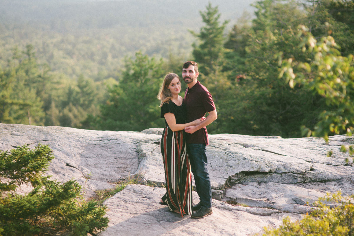 vermont engagement shoot nature