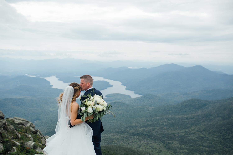 white face mountain wedding