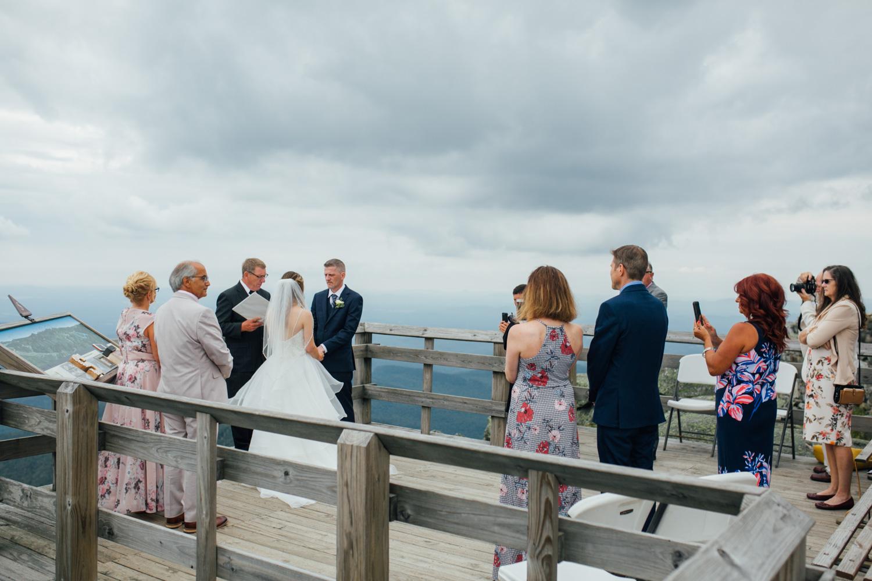 mountain top wedding Adirondacks