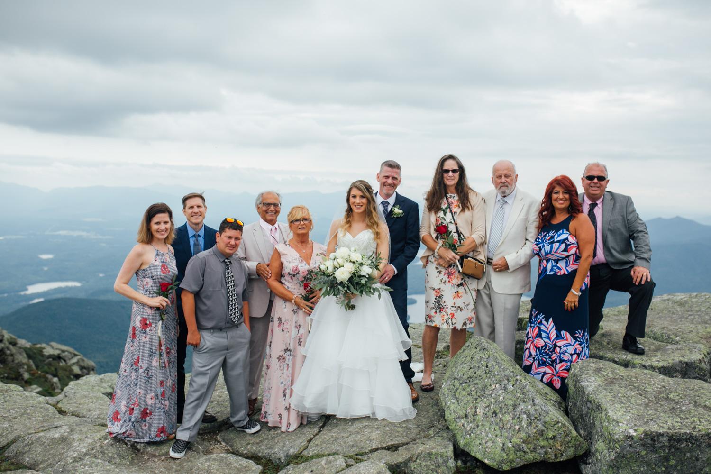 family portrait wedding photographer
