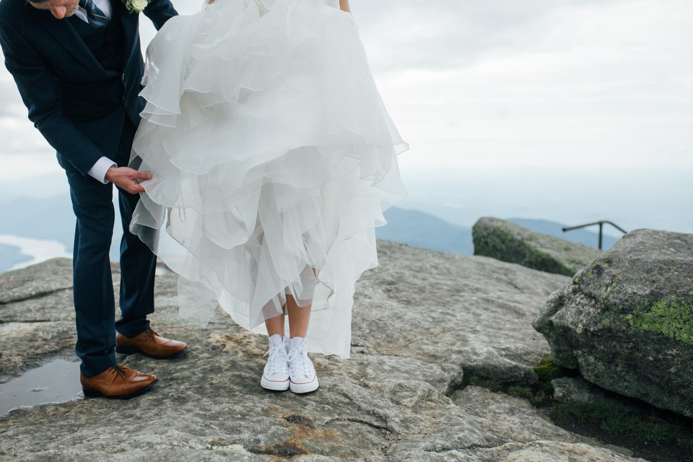 white converse bride shoes