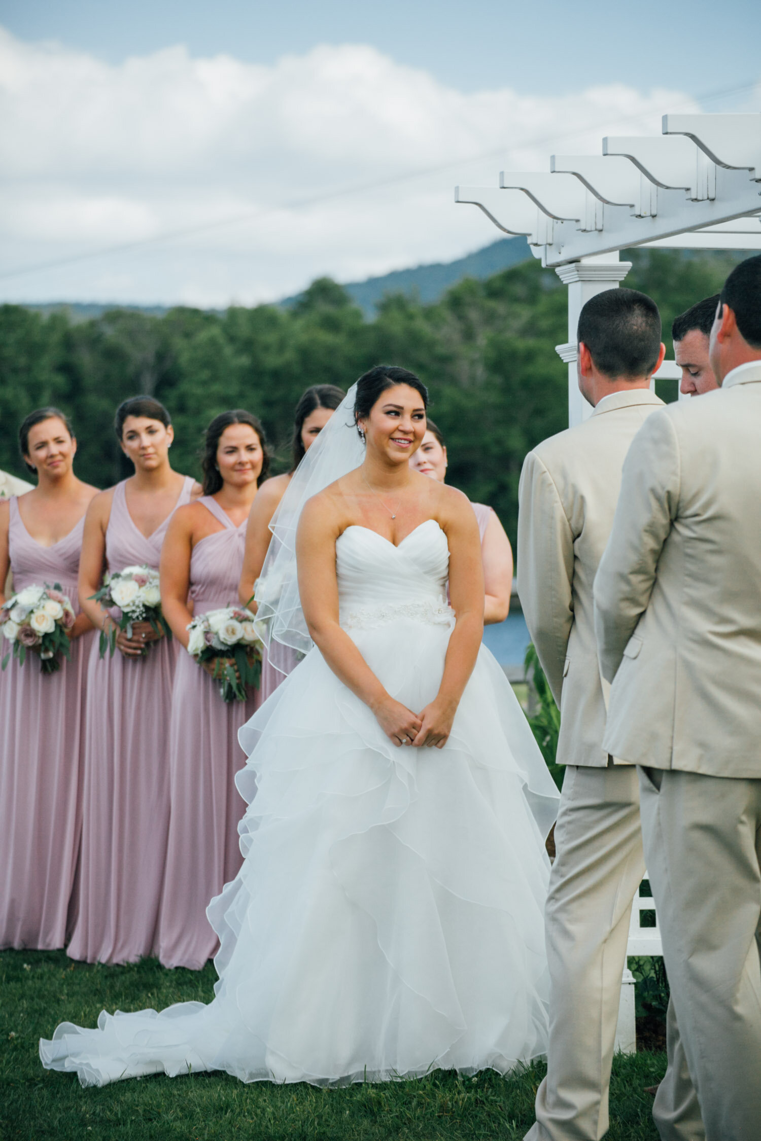 jay peak vermont wedding outdoor