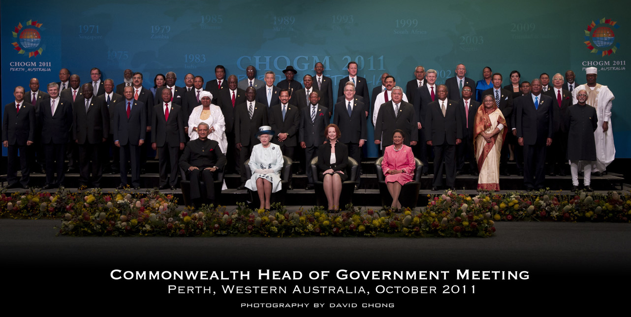 David and his team were chosen to be the official photographers for CHOGM 2011 in Perth WA