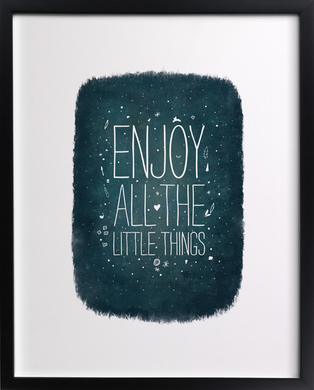 Enjoy   by  Heather Francisco