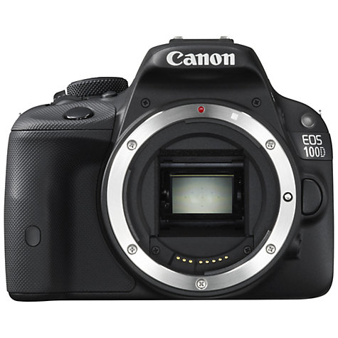 "Canon EOS 100D Digital SLR Camera, HD 1080p, 18MP, 3"" LCD Touch Screen, Body Only"