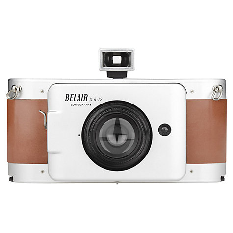 Lomography Belair X 6-12 Jetsetter Medium Format Analogue Camera with 90mm & 58mm Lenses