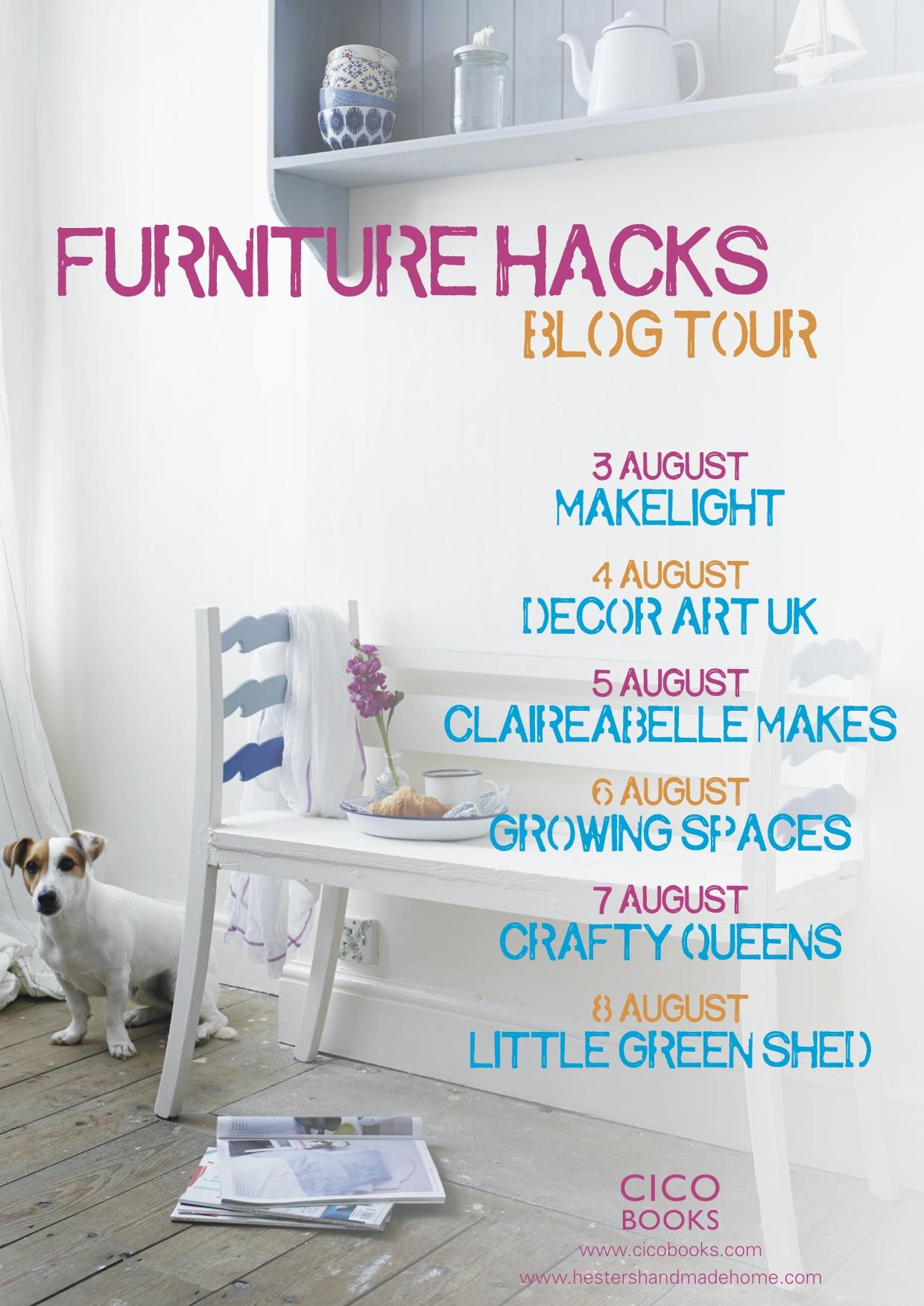 Furniture Hacks Blog Tour
