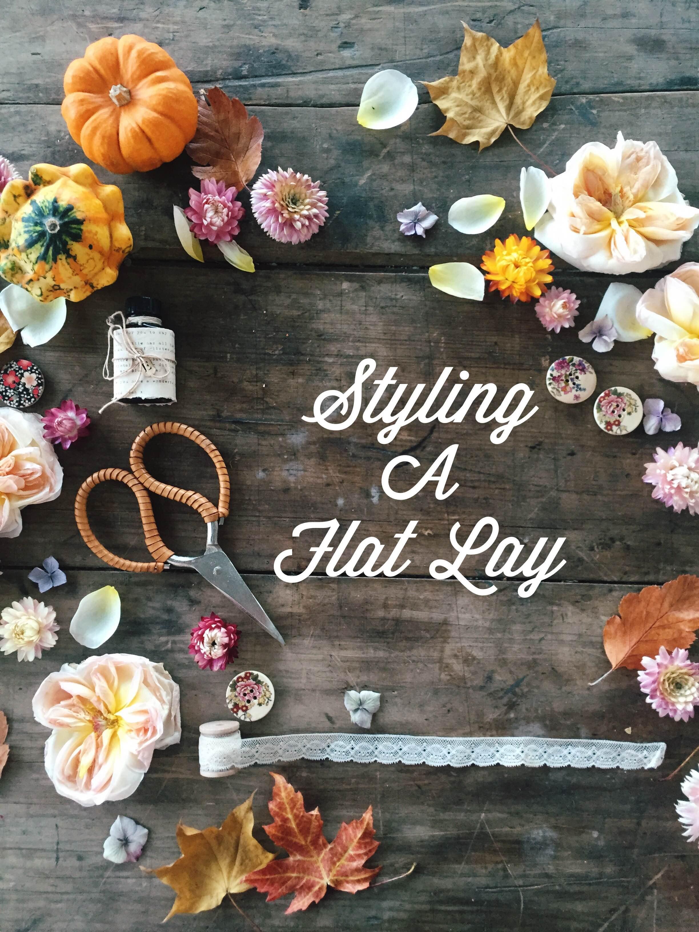 Styling A Flat Lay | Makelight