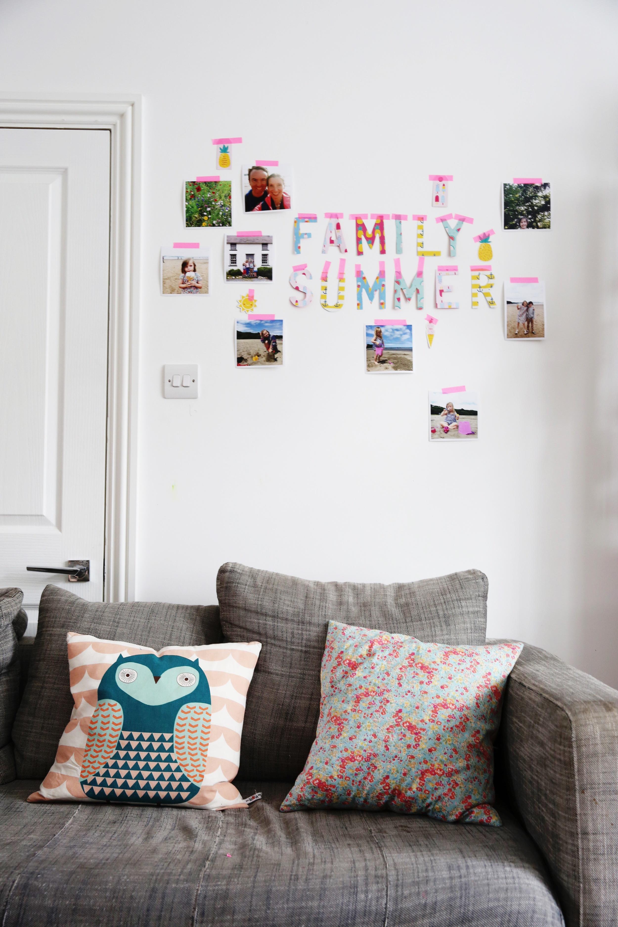 Family Photo Wall : Makelight