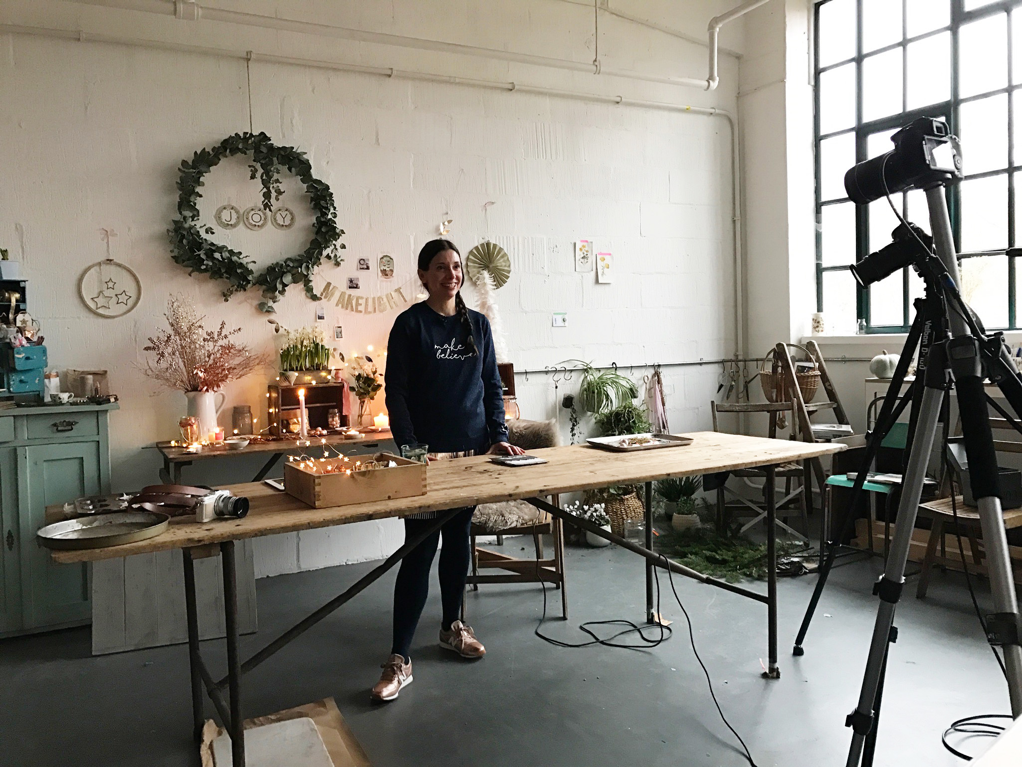 Makelight Live Christmas Workshops