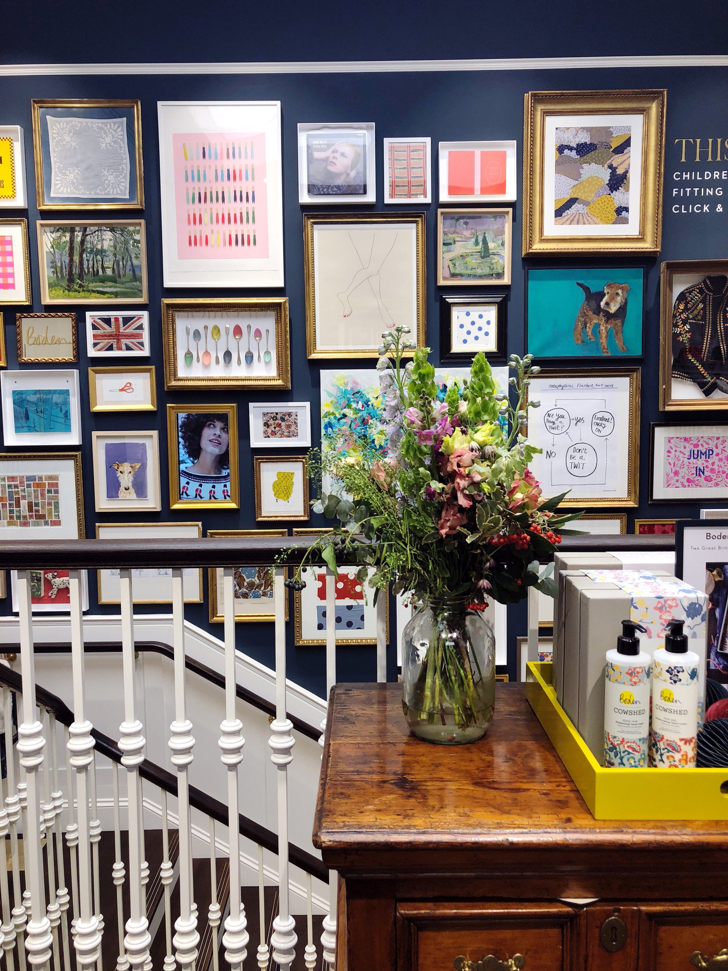 Boden store, London : The Quinskis
