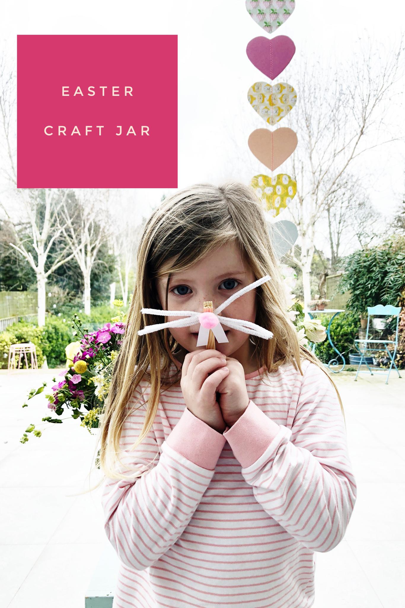 Easter Craft Jar : The Quinskis