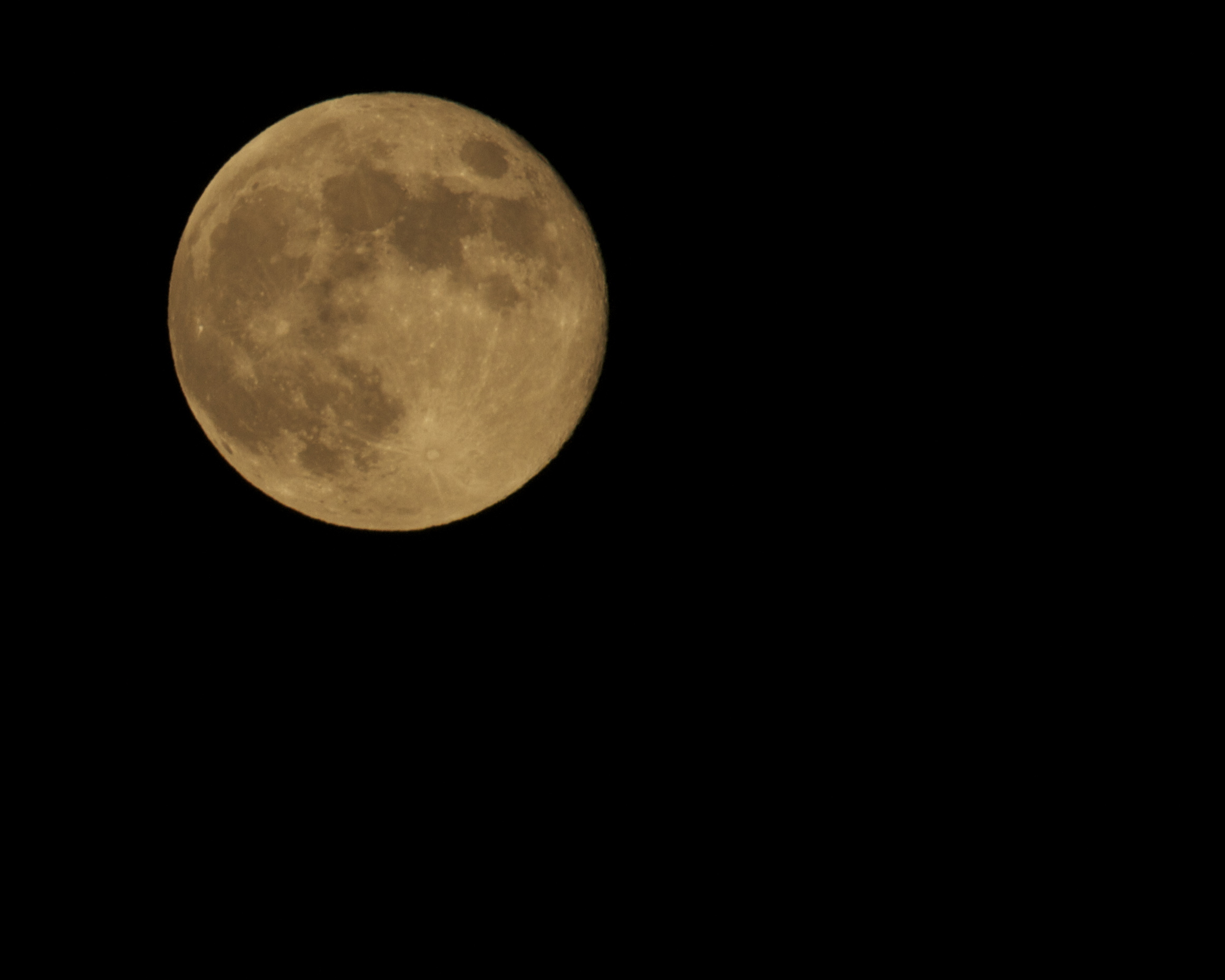 Golden Harvest Moon 19 Sep 2013 .  Be Blessed