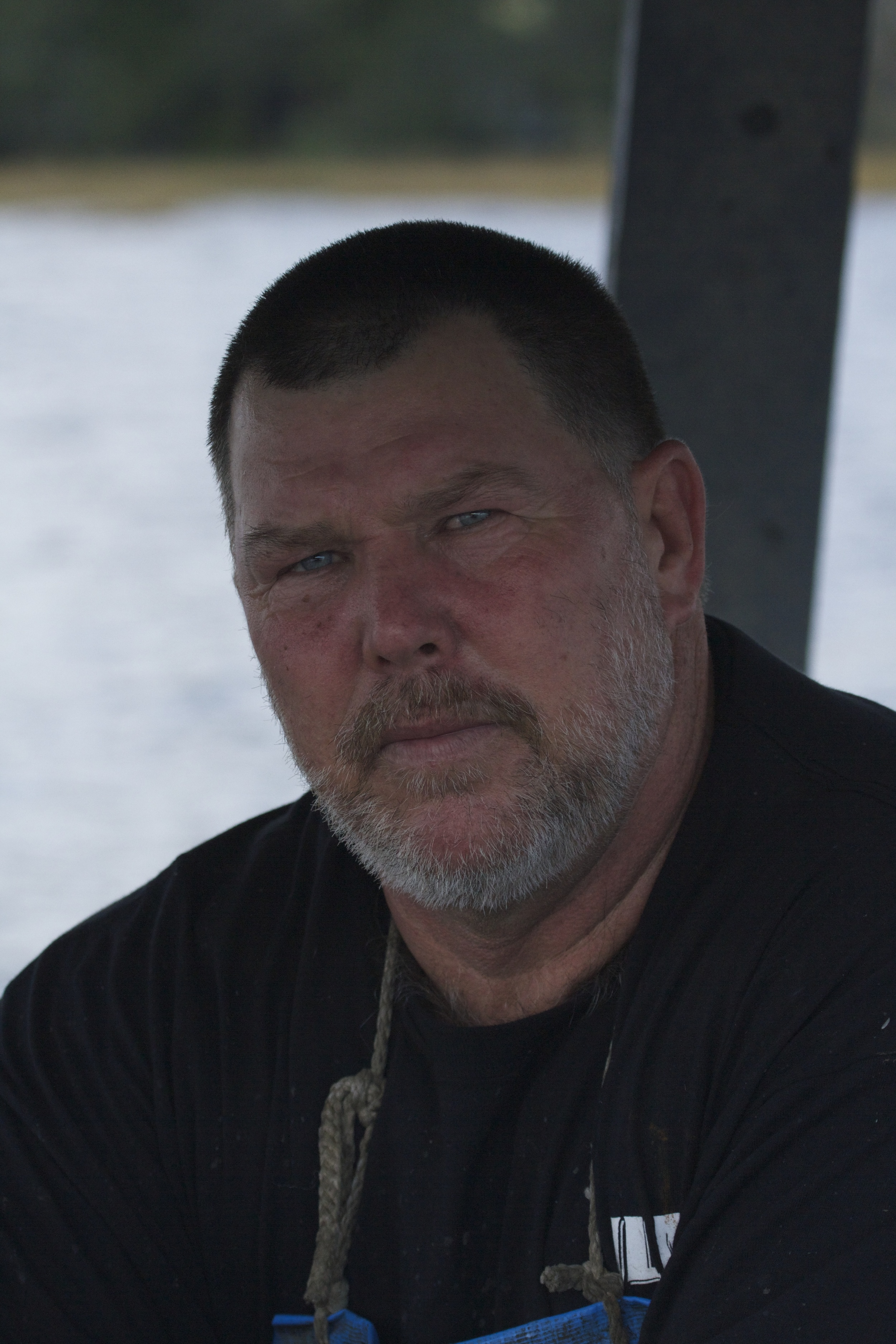 Tommy has been crab fishing all his adult life. He worries that over regulation may kill the crab fishing trade though.
