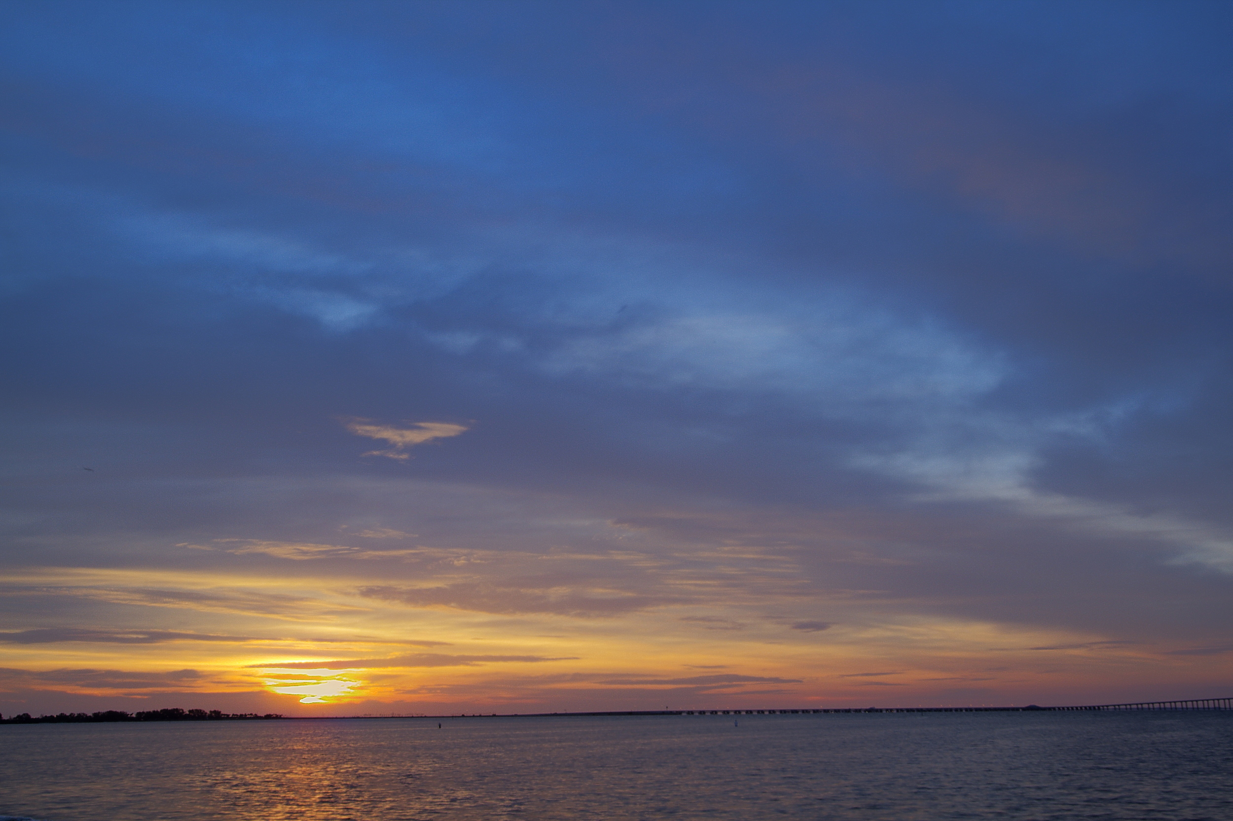 Sunrise Fort De Soto 31 May 2014