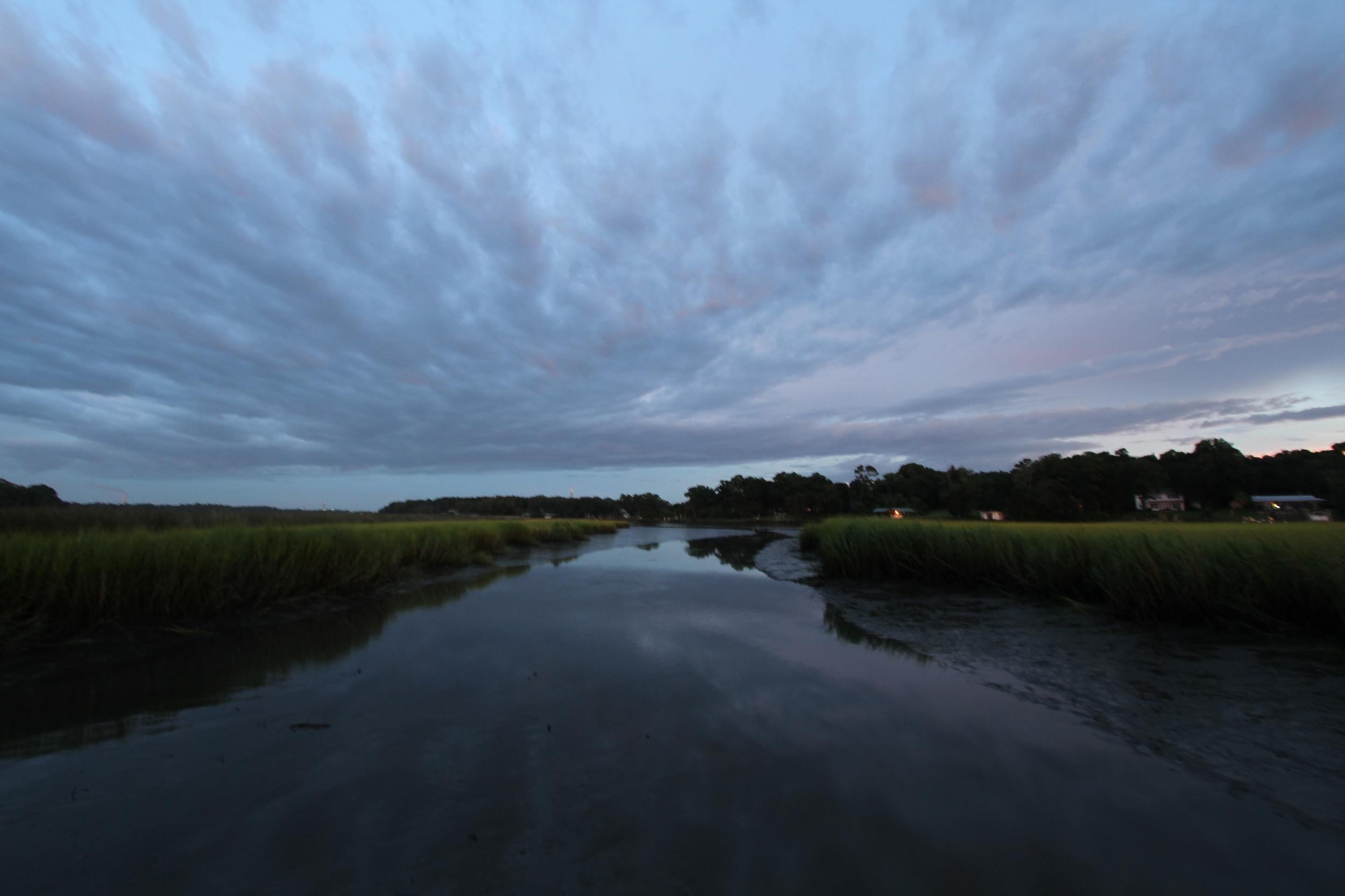 Sundown on the Broward..