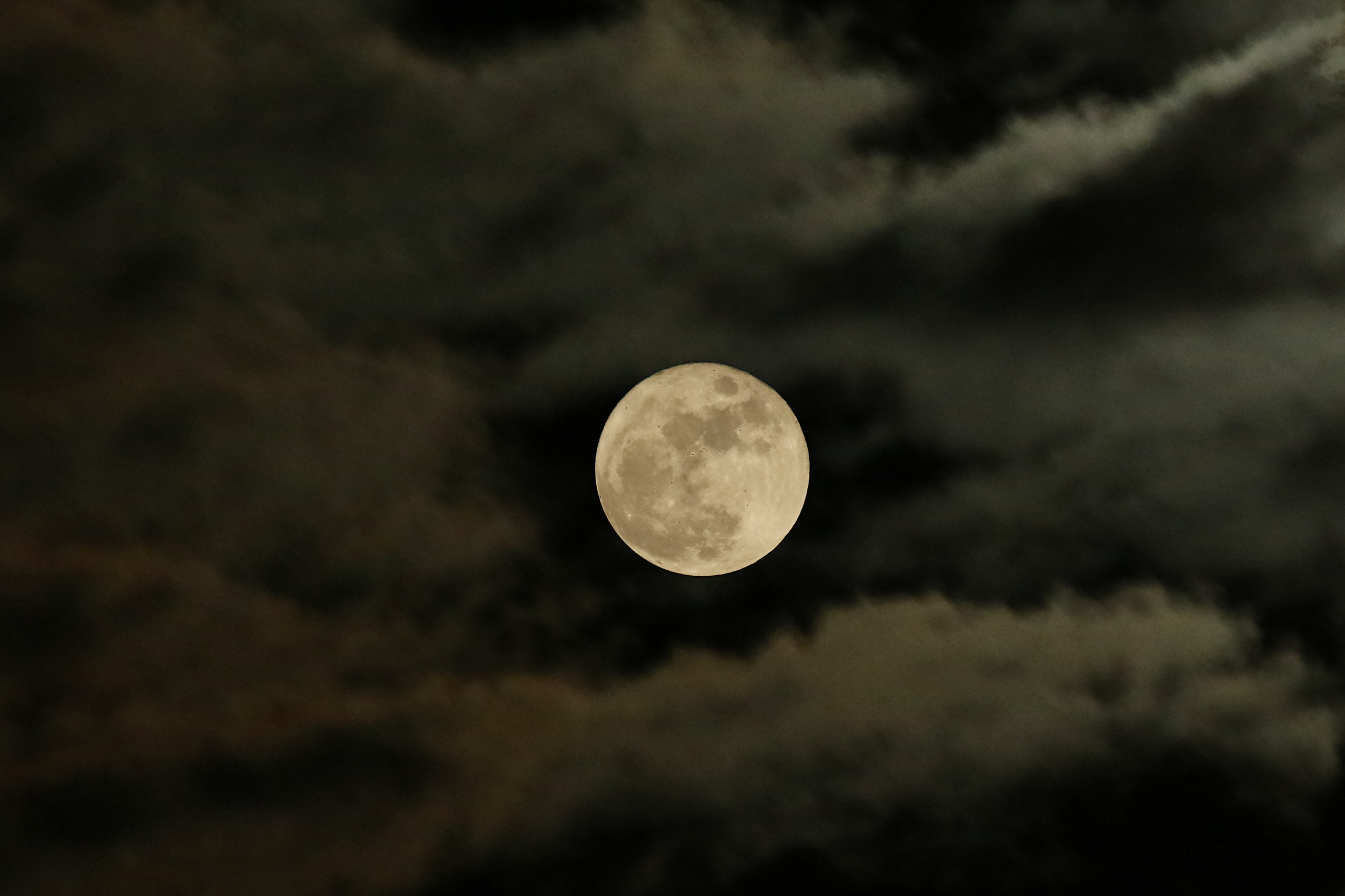 Full Moon over the Broward 6 Dec 14