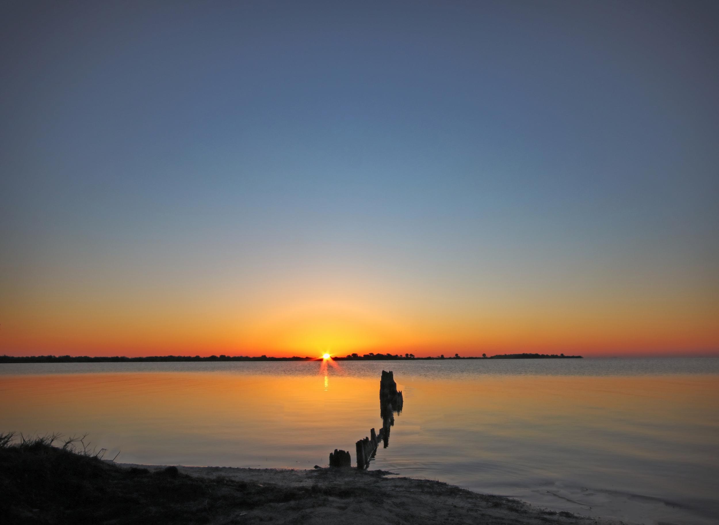 Sunrise over Merritt Island National Wildlife Reserve (MINWR)