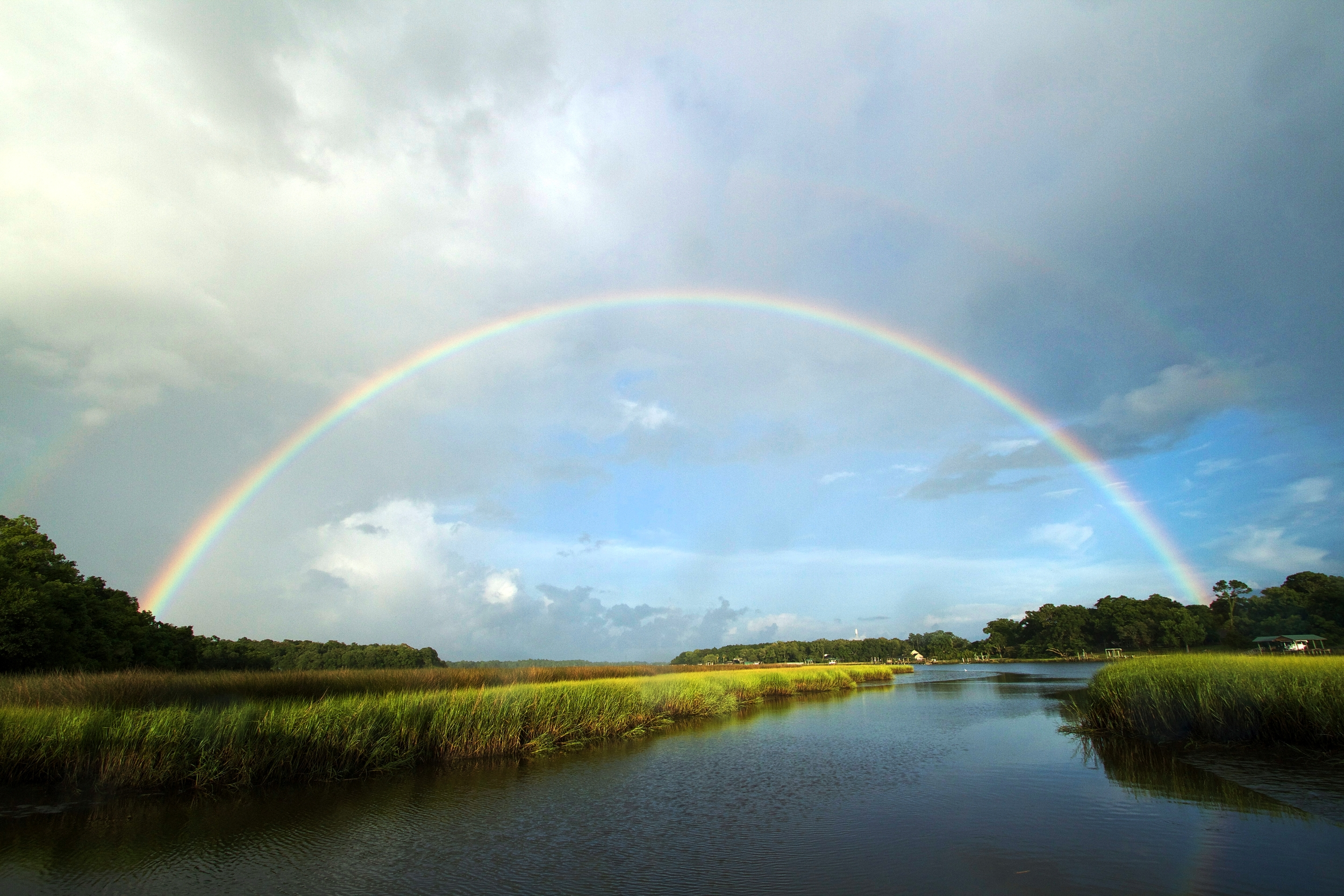 """Last year's Rainbow on the Broward reminded me of His promise, now the """"rainbow"""" has been hijacked for political correctness.."""