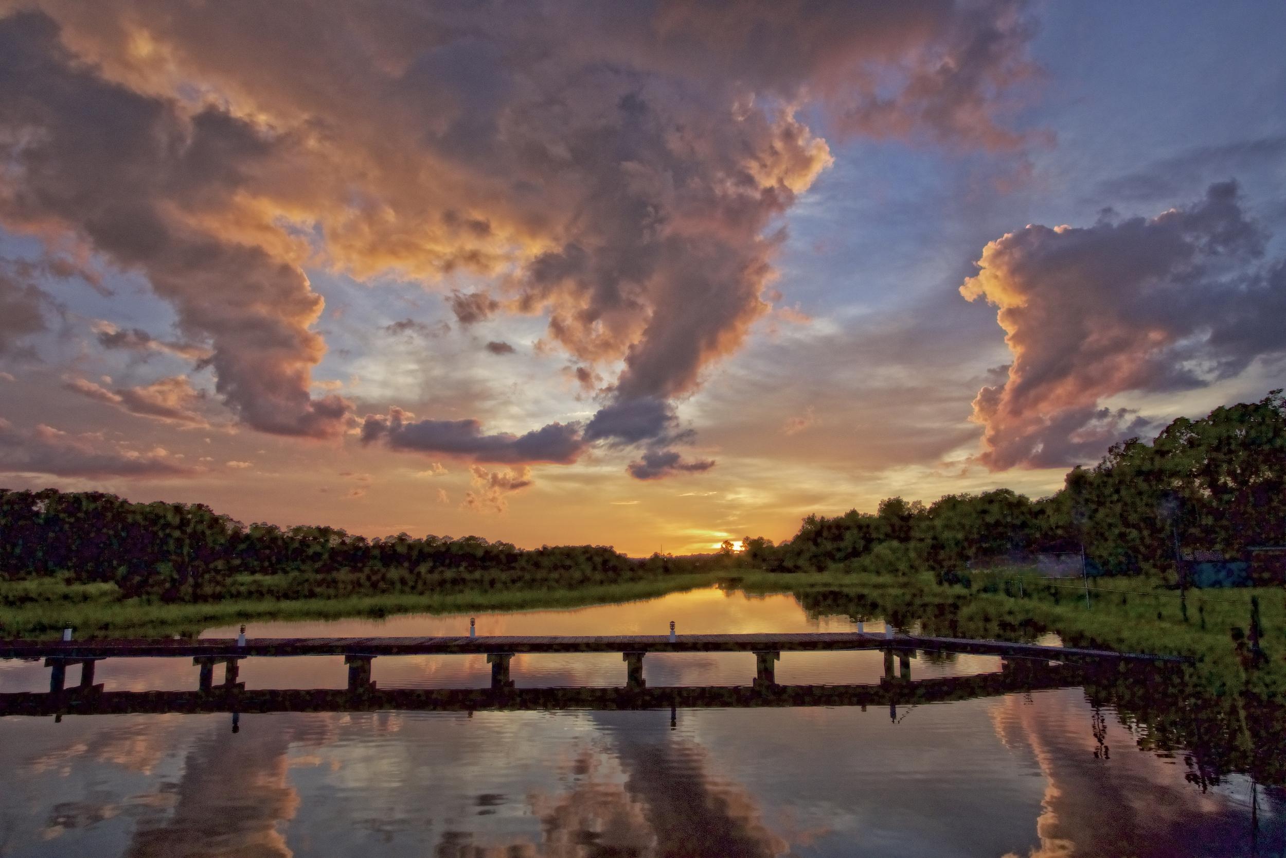Sunset on the Broward...got happy feet now?
