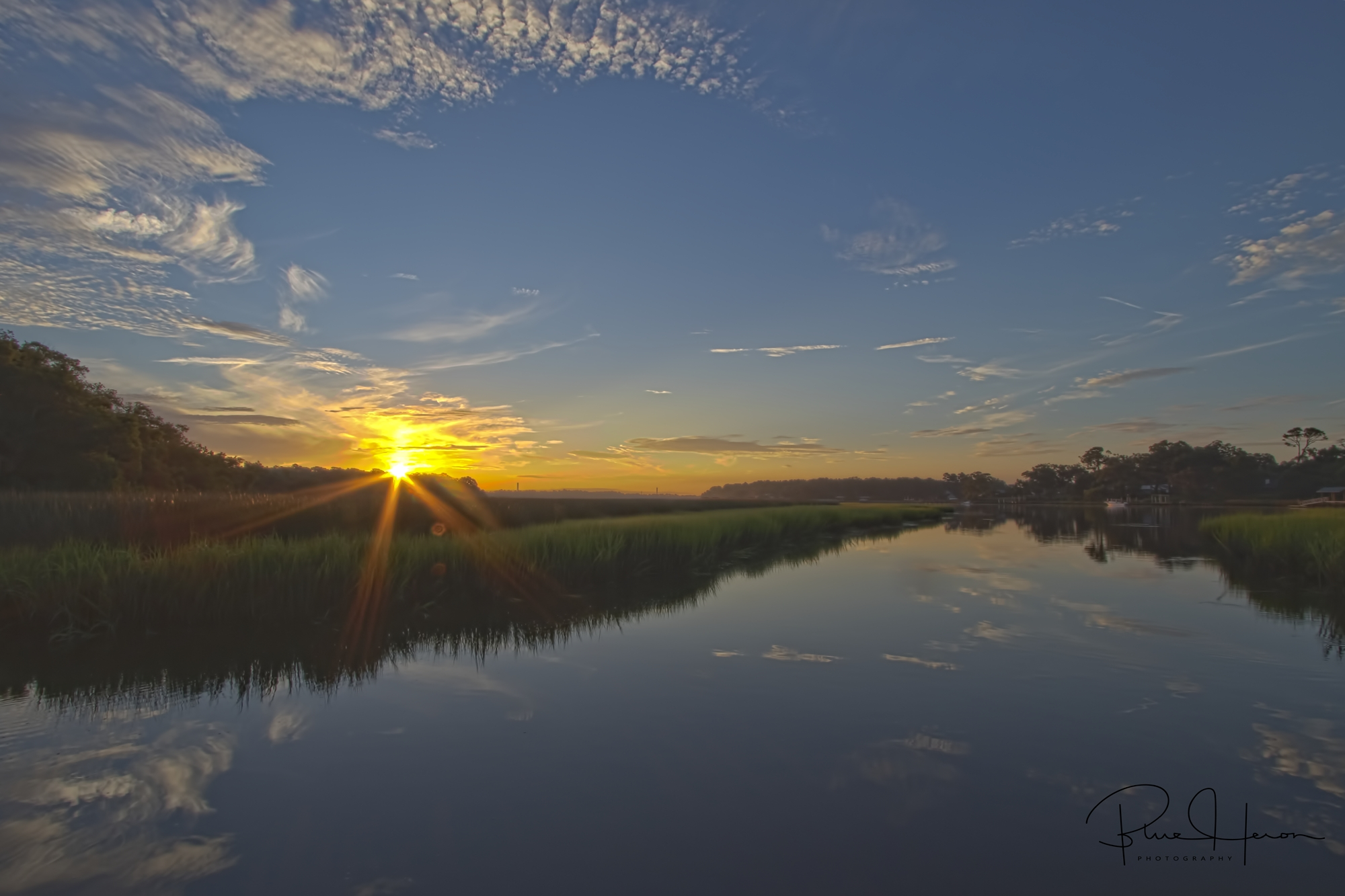 Dawn breaks on the Broward