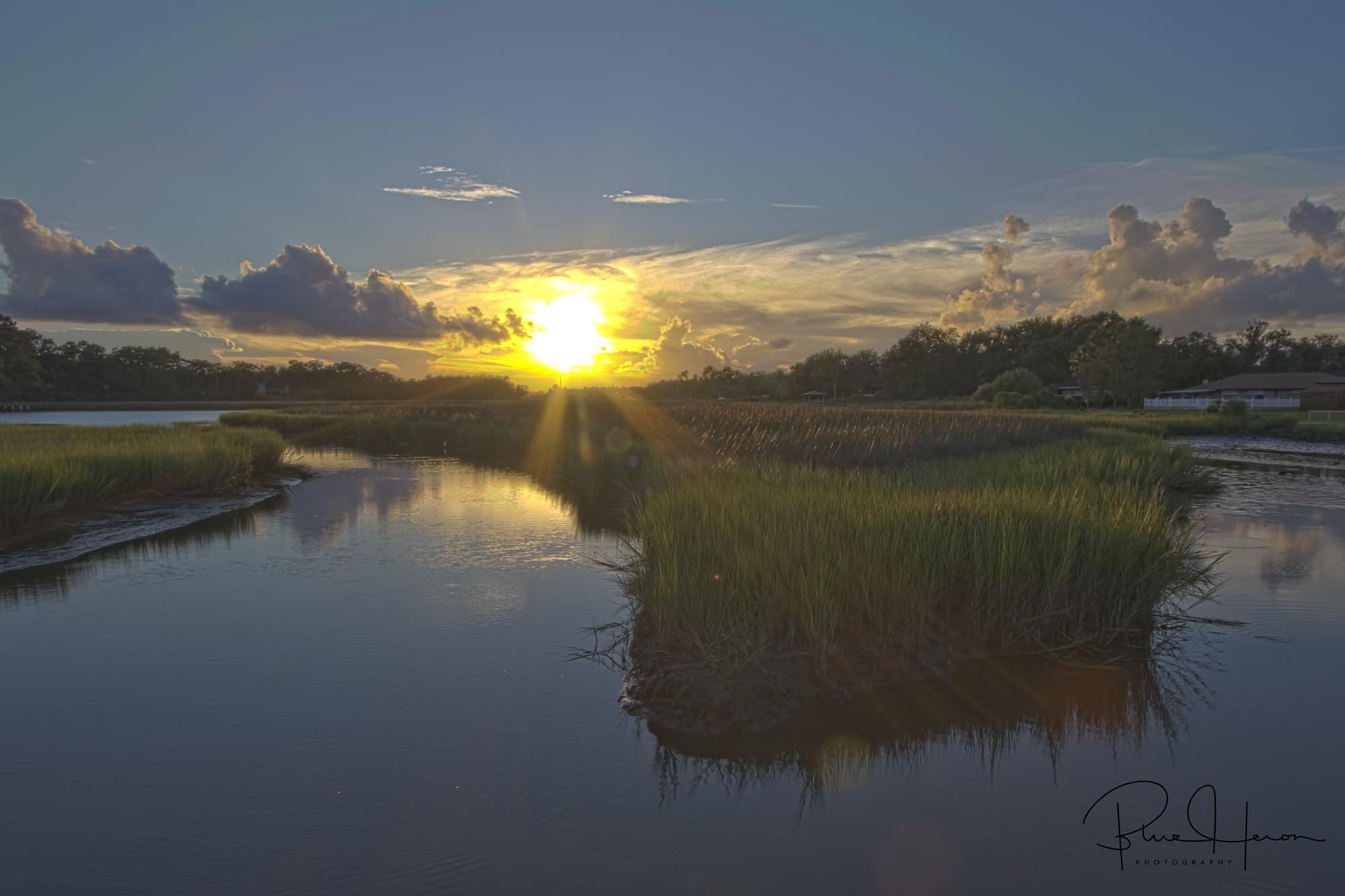 Sunset on the Broward…