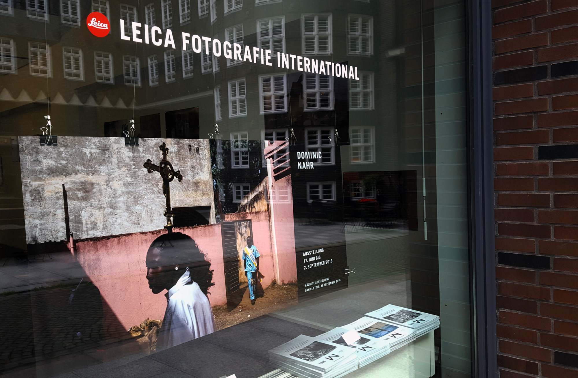 Workshop and Exhibition at LFI gallery in Hamburg, 2016
