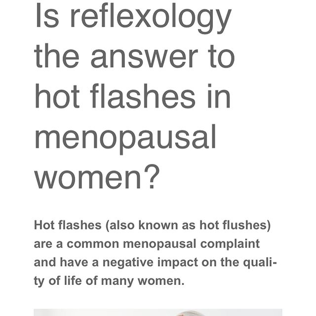 🔥HOT FLUSHES & REFLEXOLOGY🔥 A study recently published in Complementary Therapies in Clinical Practice2 aimed to identify the effects of foot reflexology when applied to menopausal women on vasomotor complaints and quality of life. The study involved 120 women attending a menopause polyclinic in Turkey, in the menopause, premenopause or postmenopause phase, and experiencing untreated hot flashes at least three times a day. The results showed that hot flashes, sweats and night sweats decreased in both groups, however the women receiving reflexology demonstrated a statistically significant larger decrease compared to those in the foot massage group. Reflexology also significantly improved problems in the sexual domain (for example, alterations in sexual desire and sex avoidance). Read the full article here: thanks to @fht_org  https://blog.fht.org.uk/2017/04/04/is-reflexology-the-answer-to-hot-flashes-in-menopausal-women/ #reflexology #reflexologydubai #purityhealth #gemmanelson #reflexologyforwomenshealth #hotflushes #sweats #nightsweats #menopause #peremenopause #postmenopause