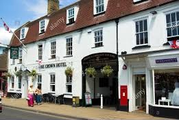 The Crown Hotel, 23 High Street,Biggleswade ,  SG18 0JE, tel 01767 310510 (opposite the courtyard centre) From £49 per room/ night