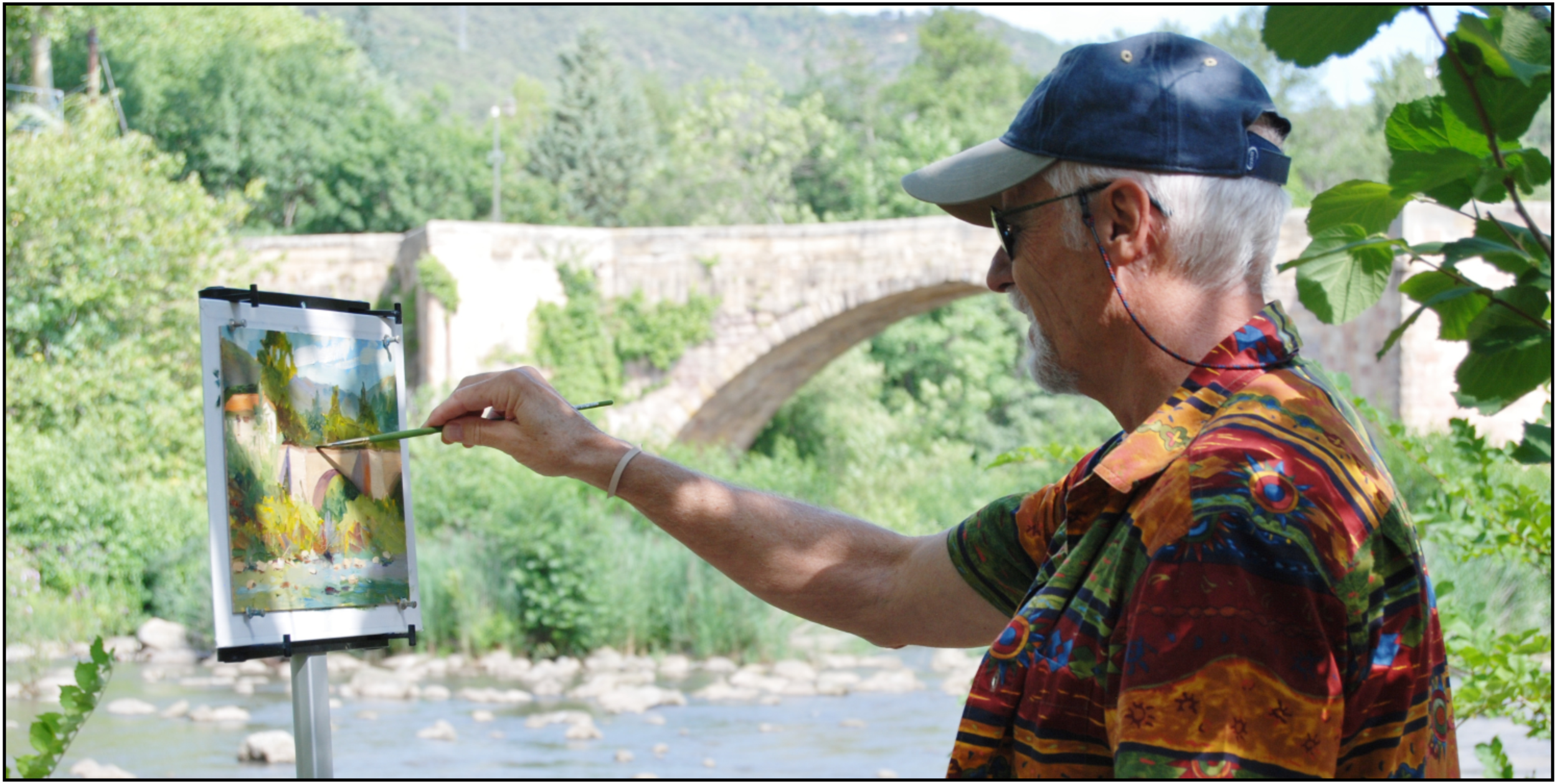 Our two week painting excursion in the South of France was both exhilarating and exhausting. Each day the eight of us would visit two villages. Leaving our base city of Limoux at eight a.m. and, most days, not return until six p.m.. The French people we encountered were most gracious and helpful.