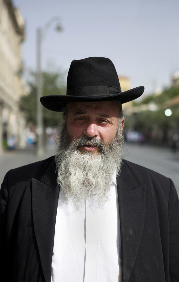Yosef Yitshak Rabinovits  Jaffa Road  Jerusalem, Israel  June 2013