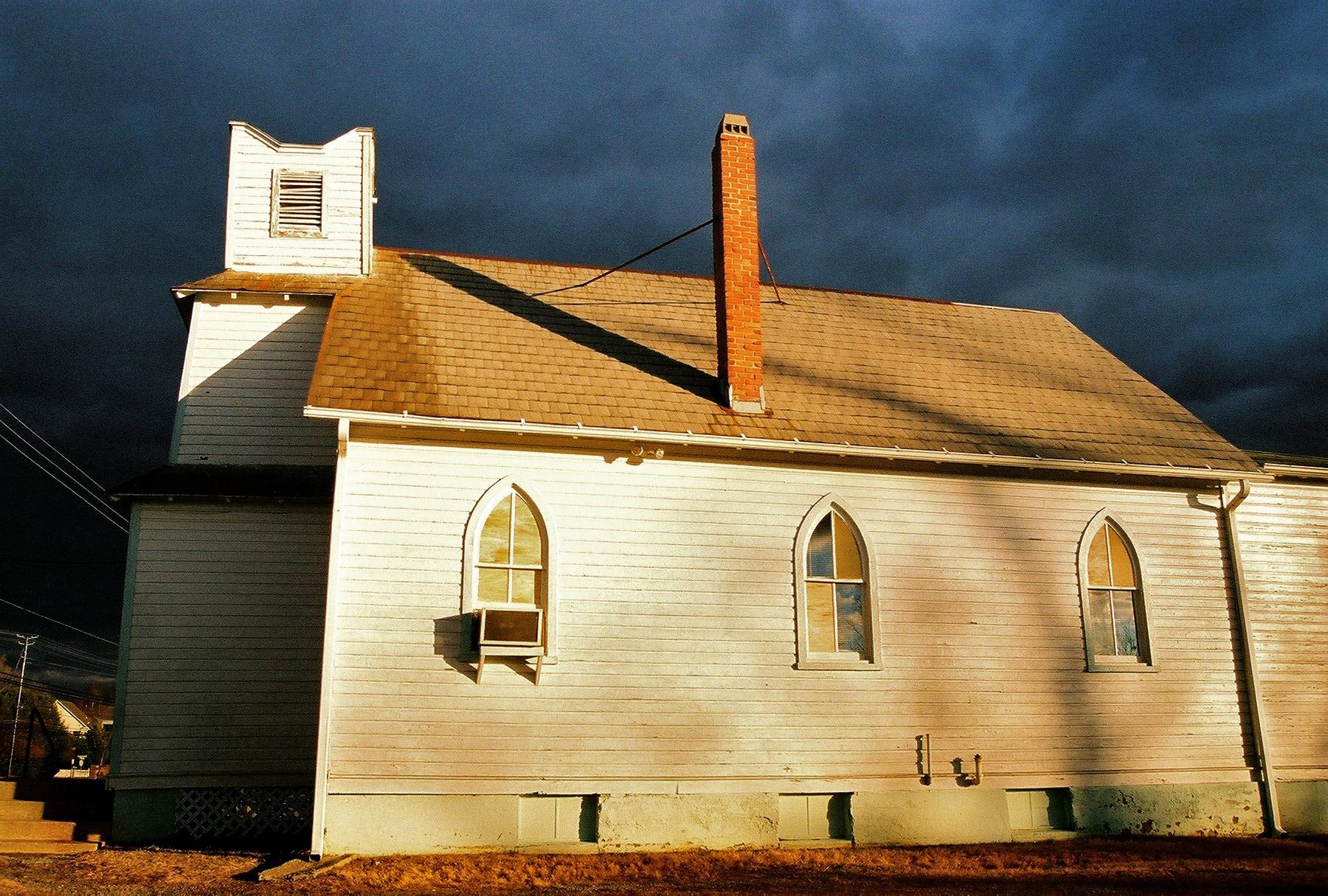 Mt of Olives Church  Gaithersburg, Maryland  March 2011  (Kodak Ultramax 400)