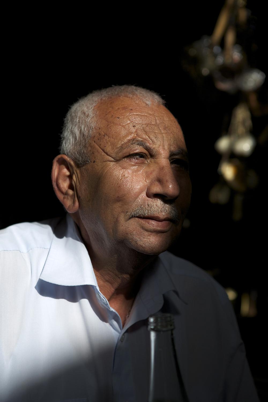 Blind Man  Old City  Jerusalem, Israel  June 2013