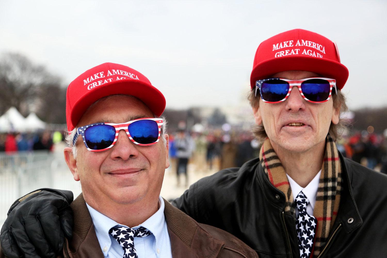 Roy and Keith  Washington, D.C.  January 2017