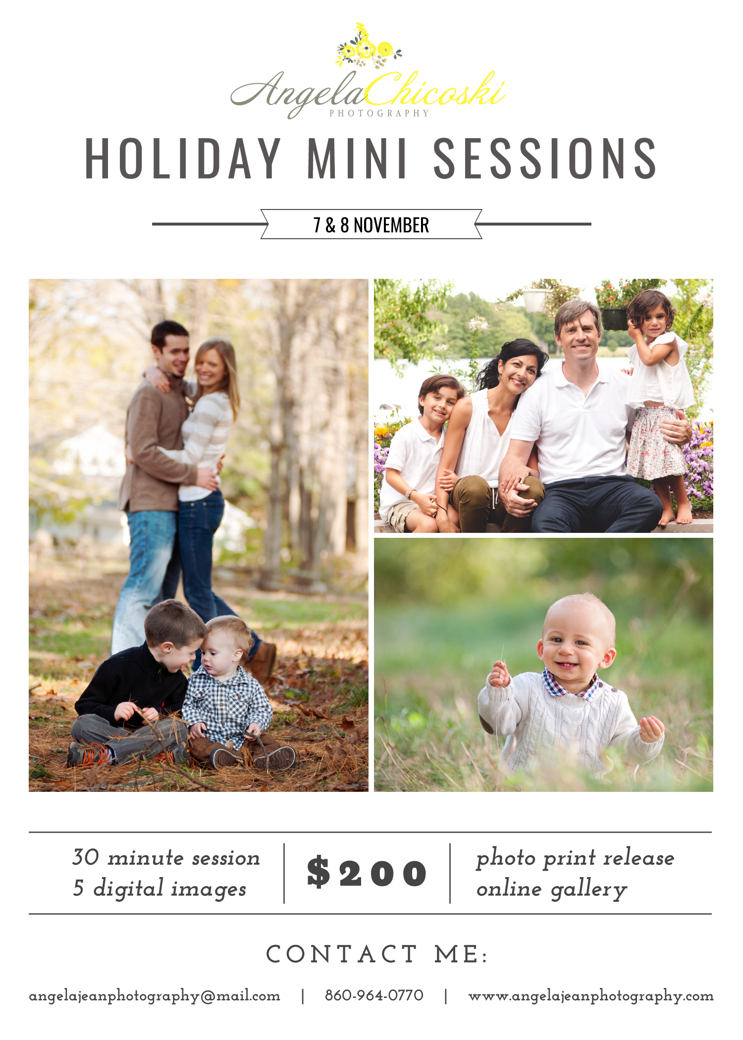 FAMILY MINI SESSIONS CT