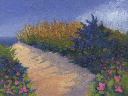Beach Rose Path     SOLD