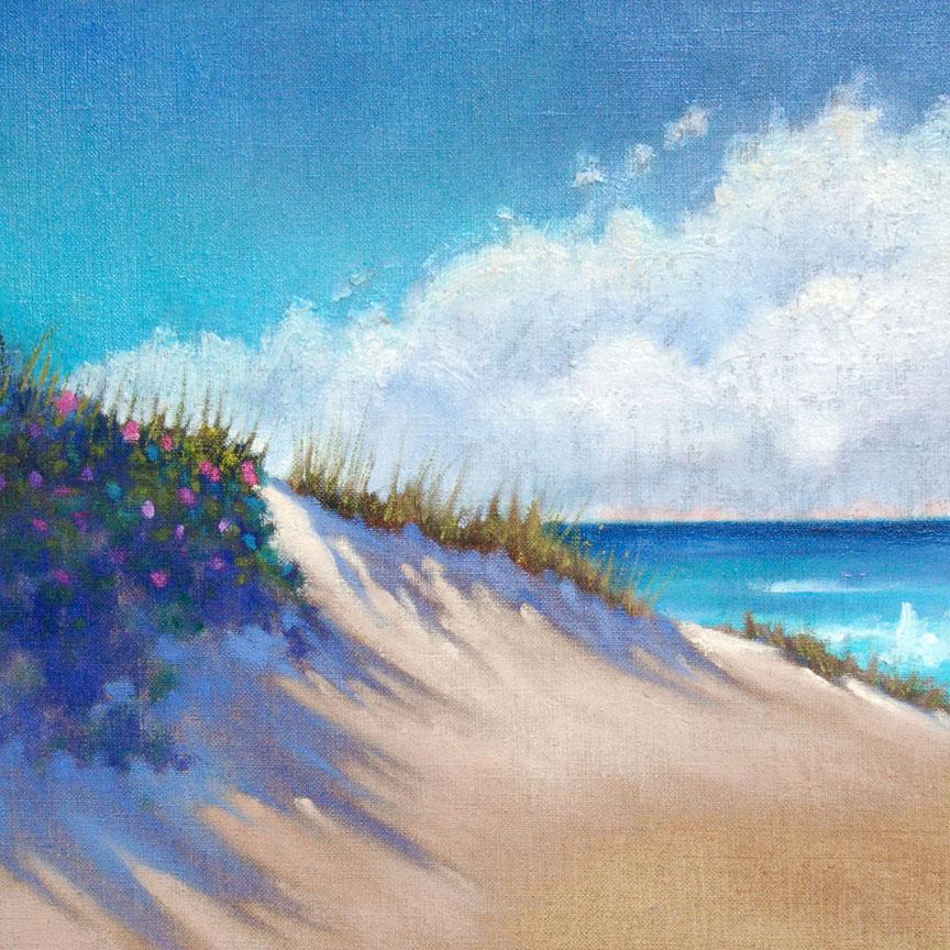 Dunes & Roses #7  12 x 12