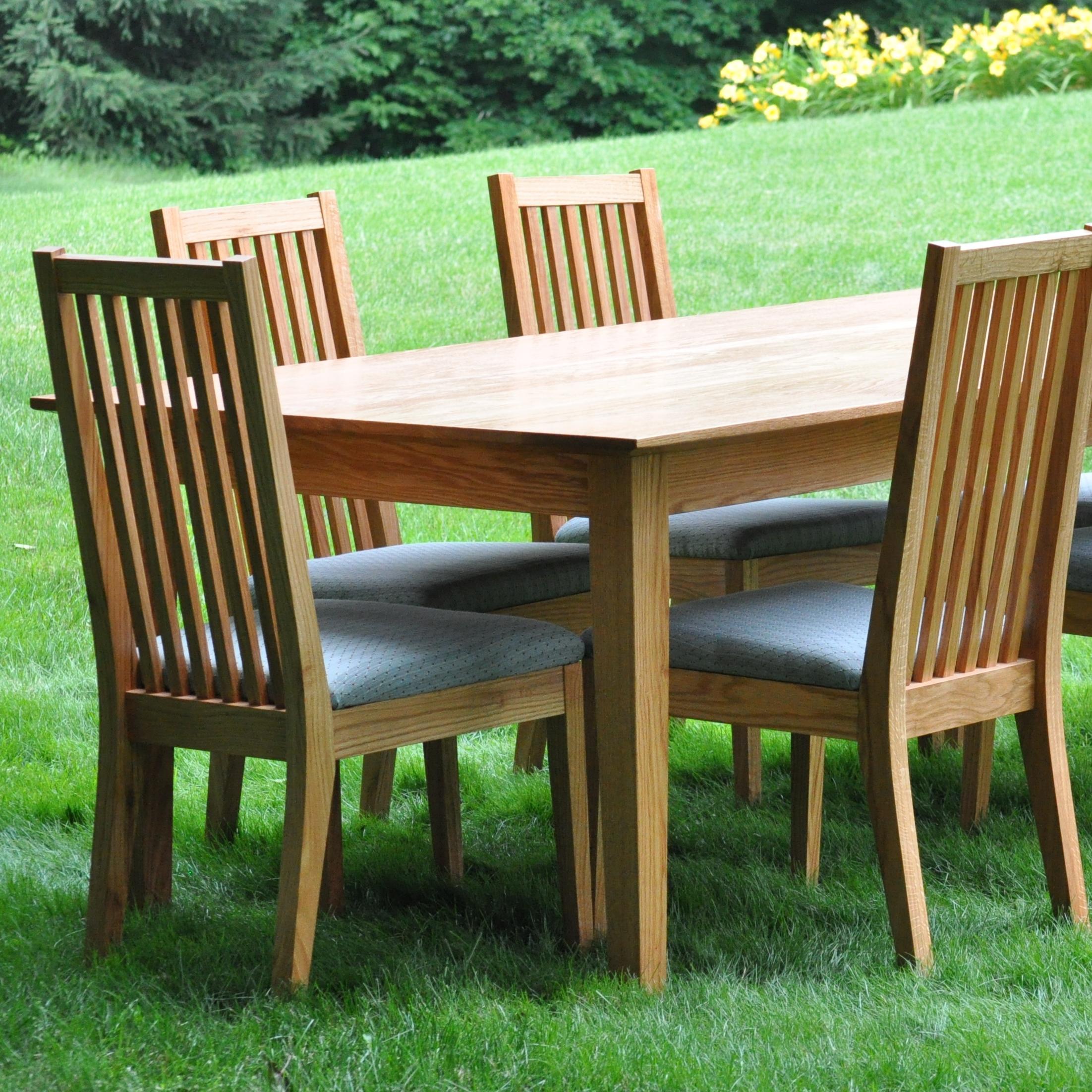 Copy of Oak Dining Set