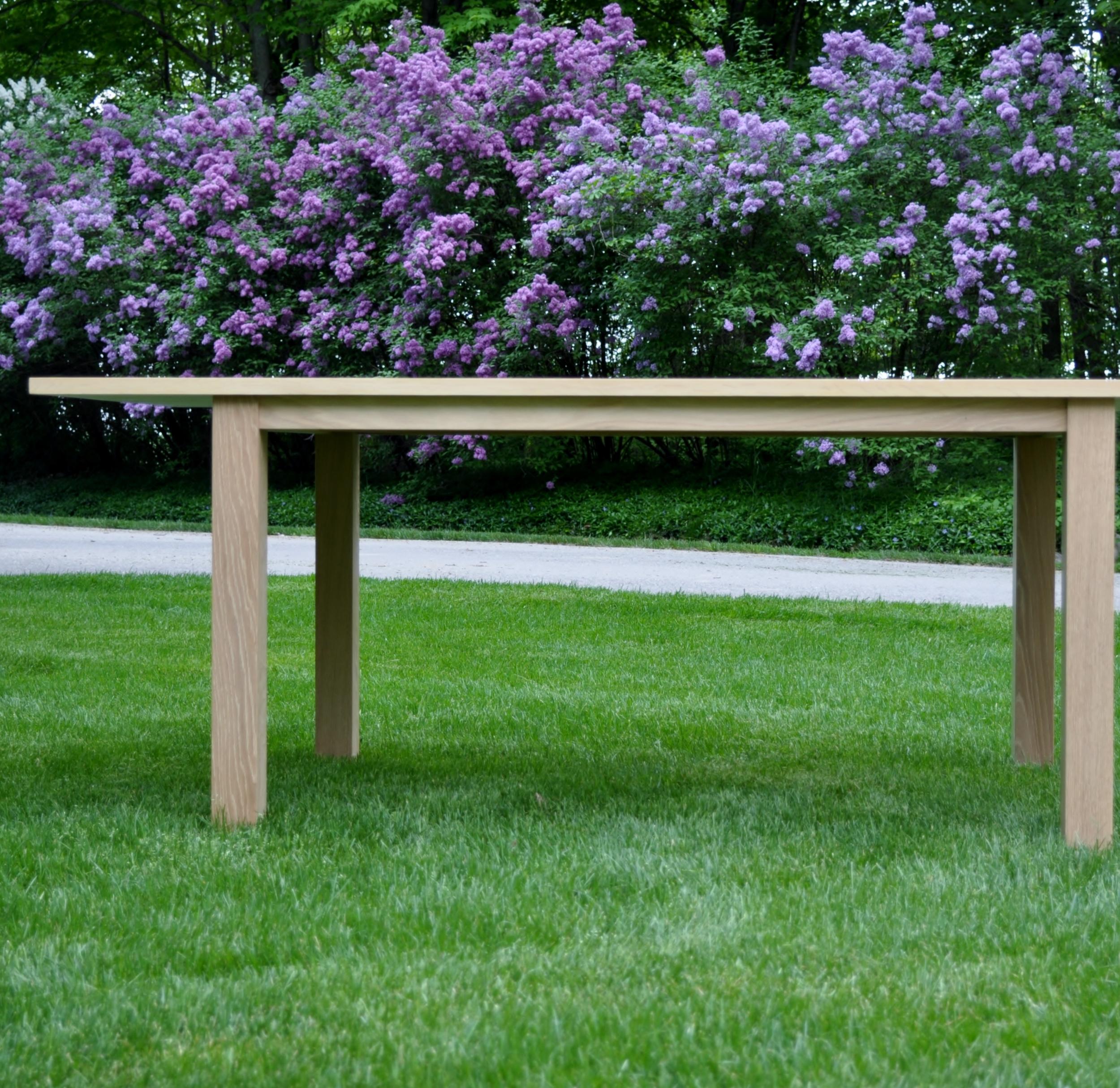 Copy of White Oak Table